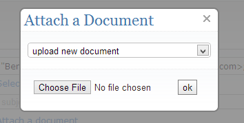 Upload new document